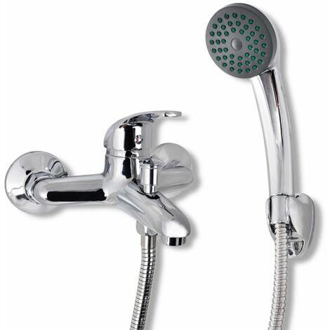 Bad Dusche Mischbatterie Set Chrom