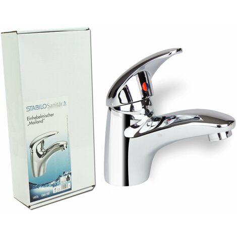 Badarmatur Mailand Mischbatterie Waschbecken Einhebelmischer Bad Wasserhahn