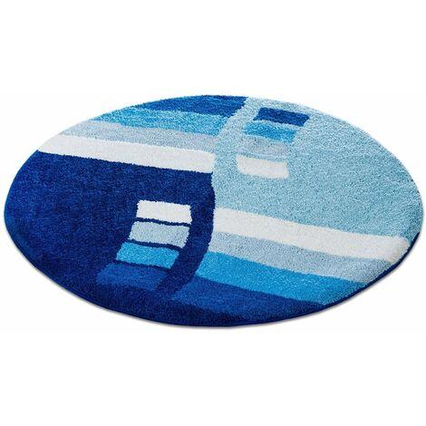 Badematte Henry | Blau | Mikrofaser | Viele Größen