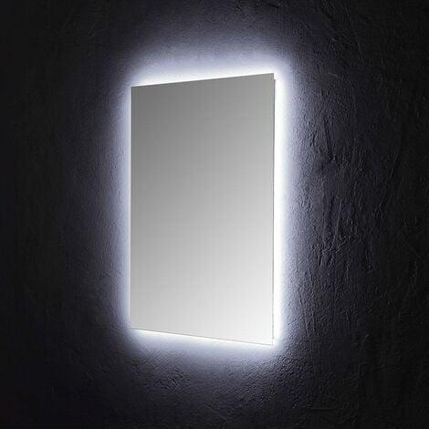 Badespiegel 60x80 CM mit PERIMETRALER LED-Beleuchtung