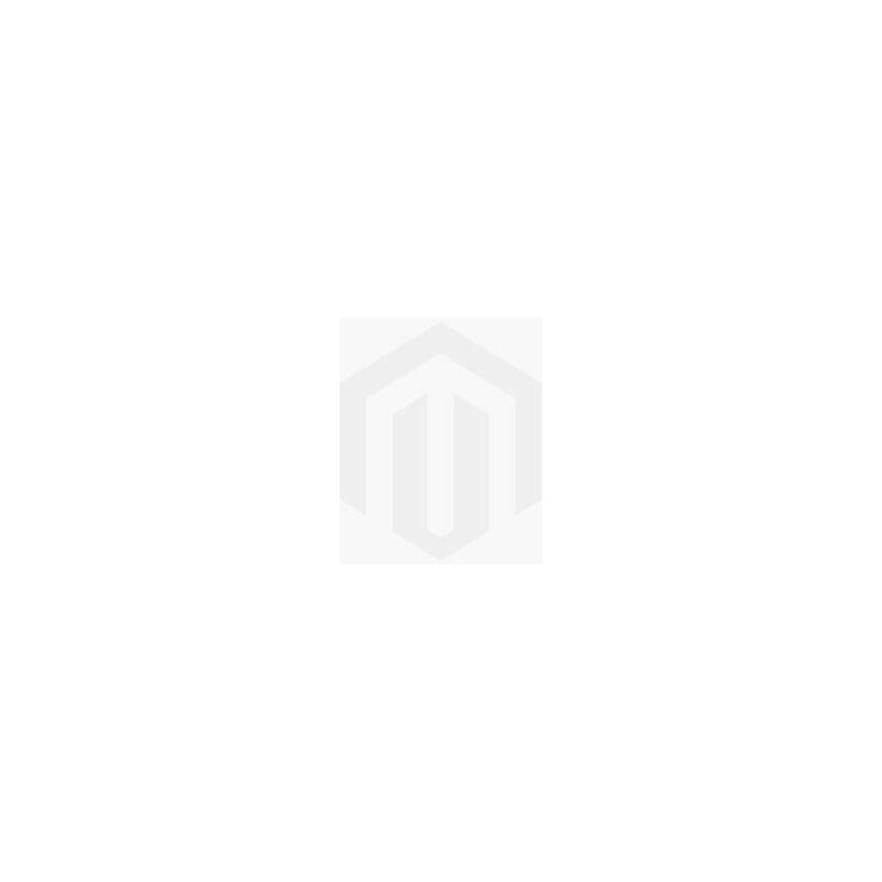 Badezimmer Badmöbel Set Angela 60 cm - Schwarzes Waschbecken - Matt Weiß - Unterschrank Schrank Waschbecken Waschtisch - BADPLAATS