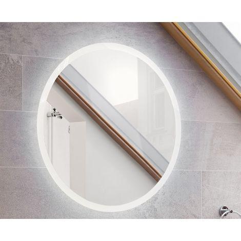 Badezimmer Spiegel SORBI inklusive LED- Beleuchtung