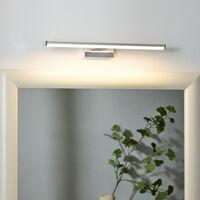 Badezimmer Spiegelleuchte Onno in chrom-matt, 400mm EEK A++ [Spektrum A++ bis E]