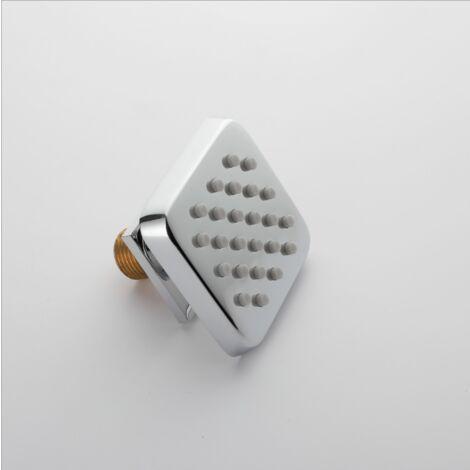 Badezimmerdusche, Duschkopf, Chrom