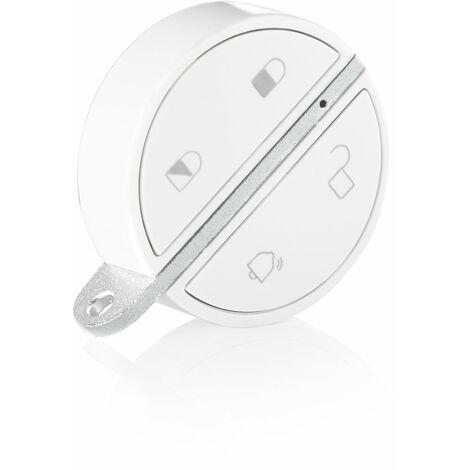 Badge de désactivation alarme mains libres Somfy pour alarme Somfy Protect - 2401489 - Blanc