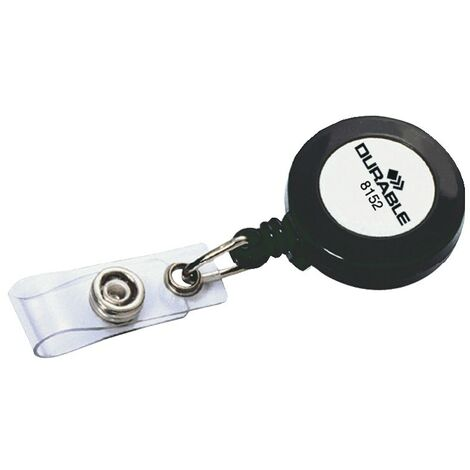 Badge Reel key Ring