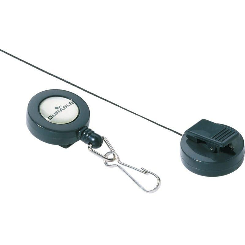 Image of Badge Reel Snap Hook, Pack of 10 - Durable