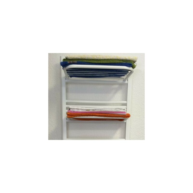 Badheizkörper Zubehör Handtuchhalter Handtuchhaken Bademantelhalter  Heizkörper Heizung Ablage410x200W