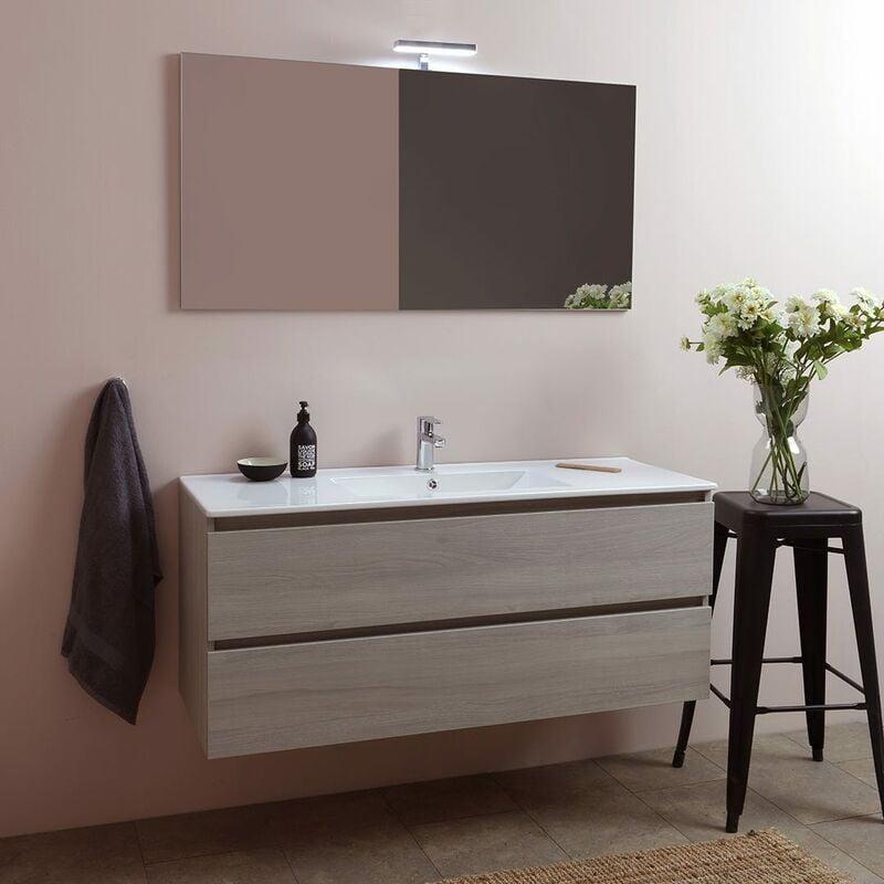 Badmöbel Set Mit 2 Auszügen Und 1 Waschbecken - 120Cm