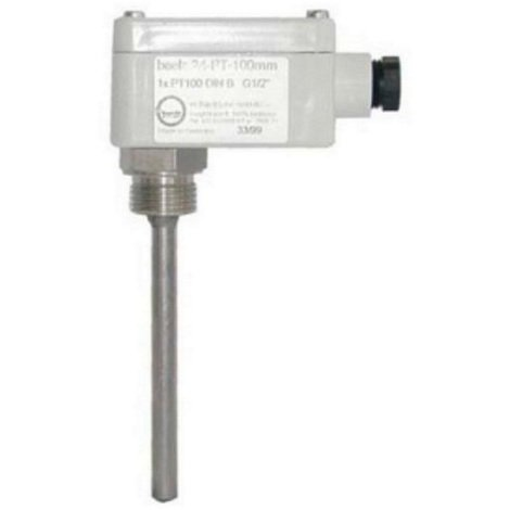 Baelz 24-PT 100 - Sonde de température à plongeur pour montage tuyauterie