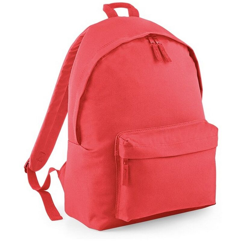 Image of Bagbase Original Plain Backpack (One Size) (Coral)