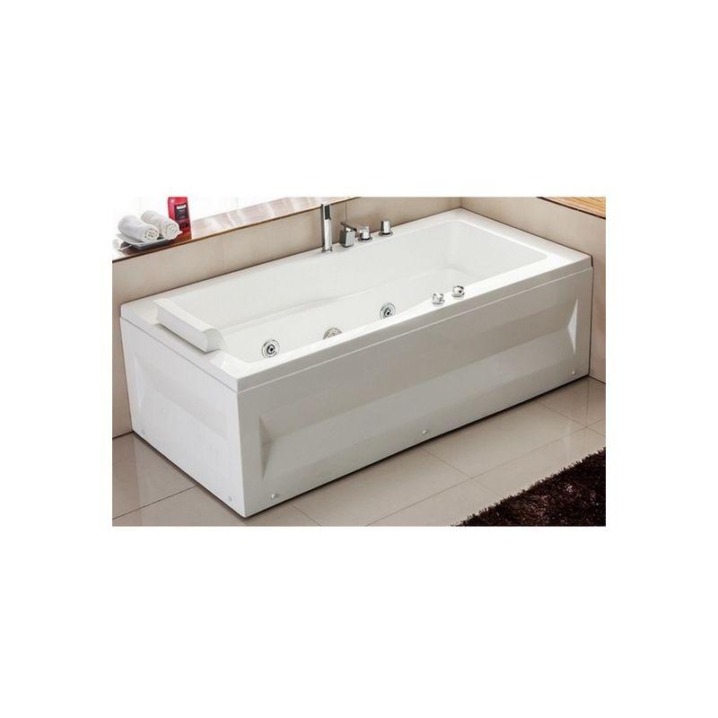 Bagno Italia vasca da bagno idromassaggio 170x70 per una ...