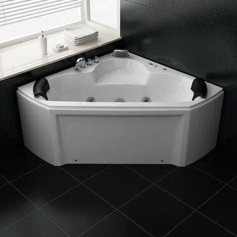 Bagno Italia Vasca idromassaggio 135x135 standard 2 posti più getti con cromoterapia standard o full optional