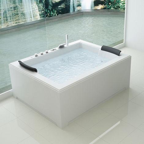 Bagno Italia Vasca idromassaggio 180x141 Full Optional riscaldatore ozonoterapia 32 getti