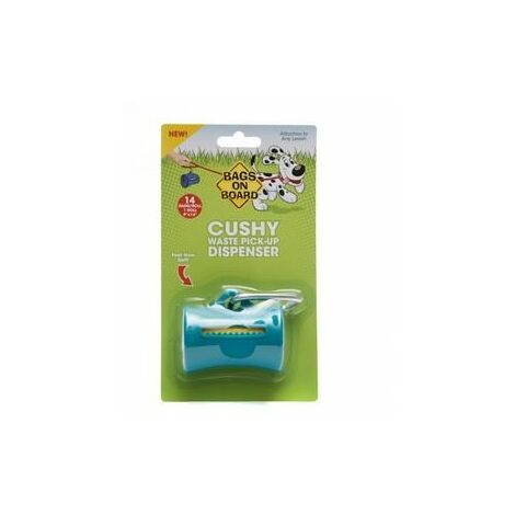 Bags On Board Dispenser Cushy Teal x 6 (390104)