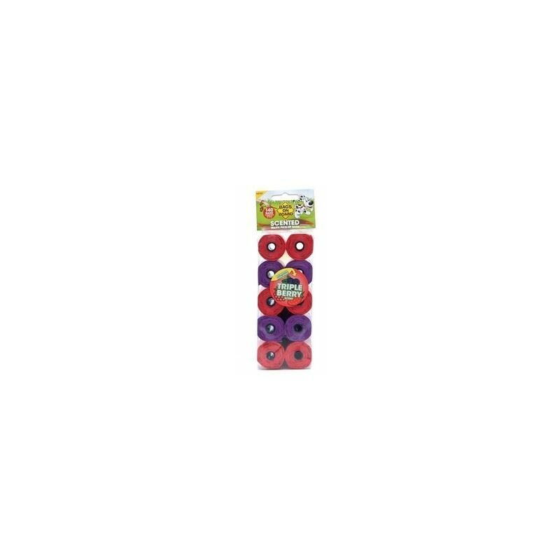 Image of Triple Berry Scented Refill roll x 6 (390107) - Bags On Board