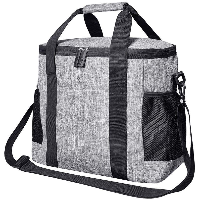Image of Alaska Cooler Bag (One Size) (Grey Melange) - Bags2go