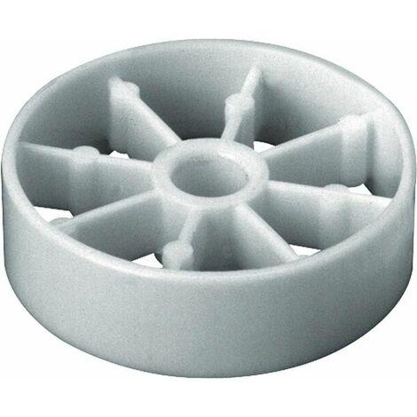 Bague de guidage en plastique blanc pour bouchon excentrique 93 073 05