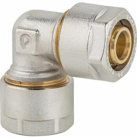 Bague de serrage multicouche Coude 90° 16x2mm