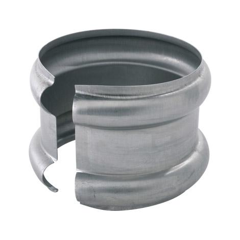 Bague extensible double Zinc 100mm
