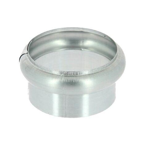 Bague simple extensible zinc naturel diamètre 100 mm
