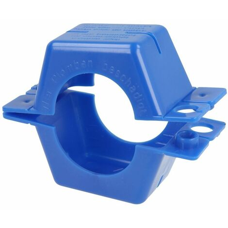 """Bagues de plombage 1\"""" plastique-bleu complet"""