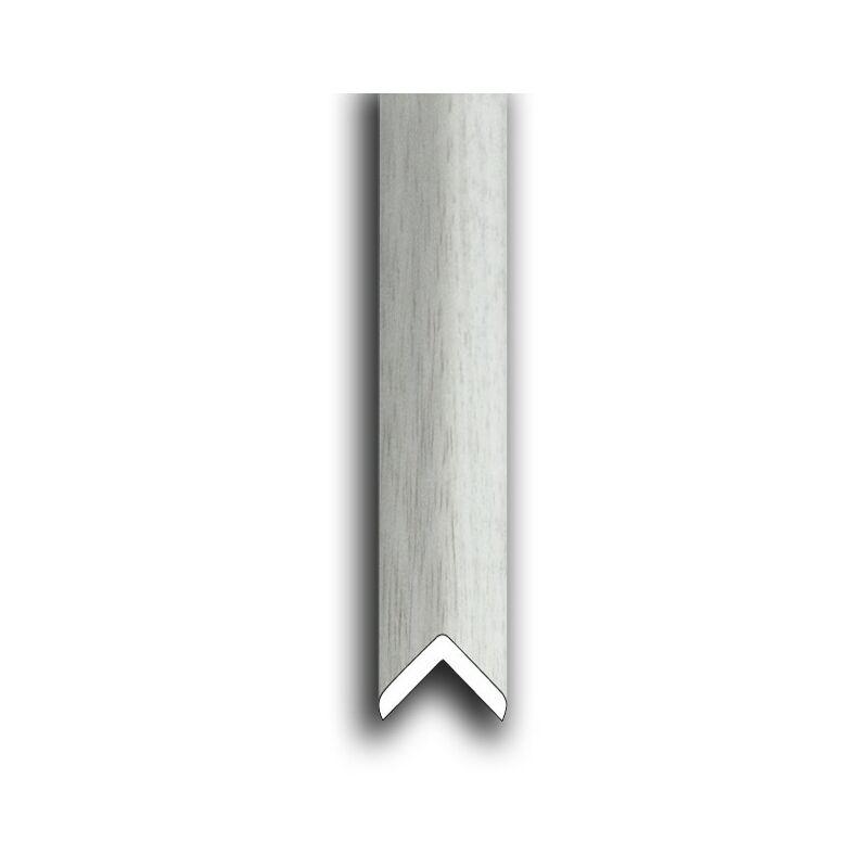 Lampadaire extérieur en aluminium blanc, 2.20 mètres