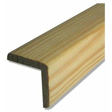 Baguette d'angle pin 2400x28x28 mm - supbois