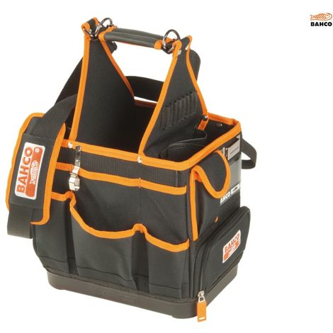 BAHCO 12IN ELECTRICIANS BAG-HARD BOTTOM