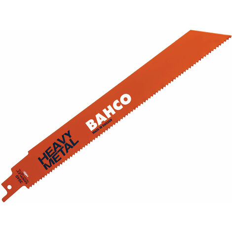 Bahco 3940-150-14-HST Heavy Metal Reciprocating Blade 150mm 14 TPI (Pack 5)