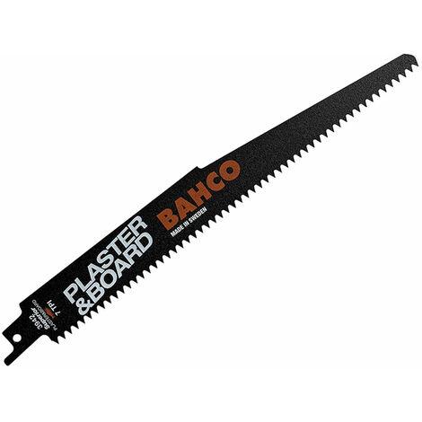 Bahco 3942-228-7-SL-5P Plaster & Board Bi-Metal Reciprocating Blade 228mm Pk5