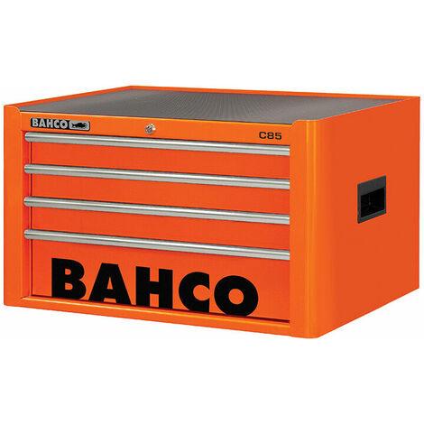 Bahco 4 Drawer B Top Chest K Orange