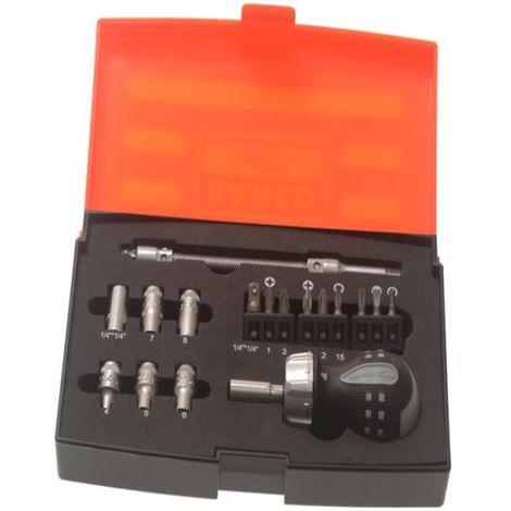 Bahco 808050S-18 Stubby Ratchet Screwdriver Set of 18