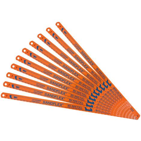 Bahco BAH39063210P 3906 Sandflex Bi-Metal Hacksaw Blades 12in x 32tpi Pack of 10
