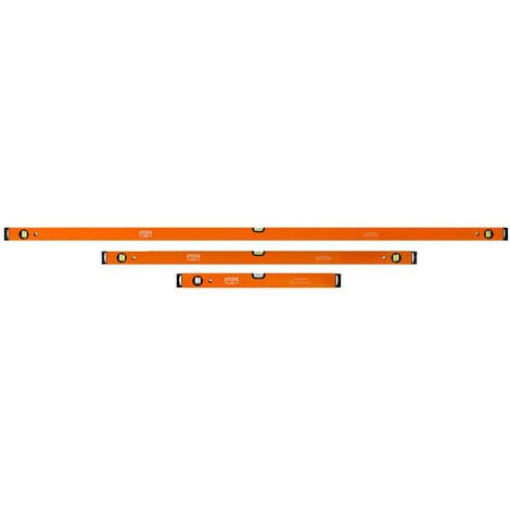 Bahco BAH416SET1 416 Series Spirit Level Set 600 1200 & 1800mm