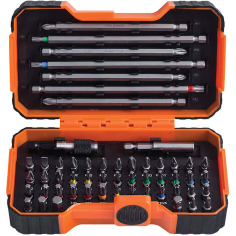 Bahco BAH59S54BC 59/S54BC Colour Coded Bit Set 54 Piece