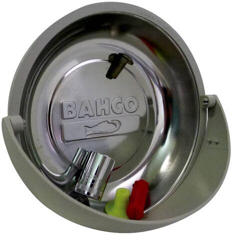 BAHCO Bandeja magnética para accesorios redonda 15 cm BMD150