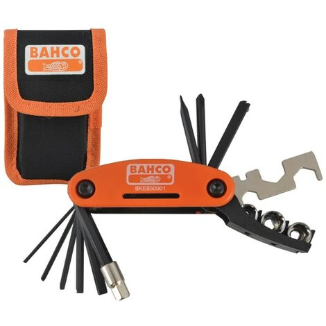 """main image of """"Bahco BKE850901 17 Piece Bicycle Tool Bike Multi Tool Socket Set with Pouch"""""""