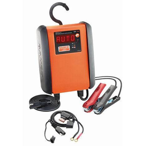 Bahco Chargeur de batterie/mainteneur automatique de charge 10 A pour batteries 12 V - BBCE12-10