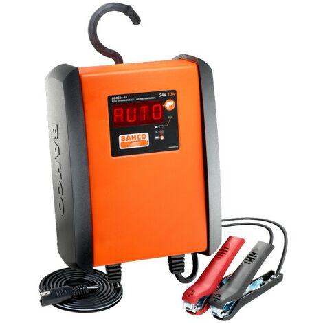 Bahco Chargeur / mainteneur de charge automatique 10 Ampères pour batteries 24V - BBCE24-10