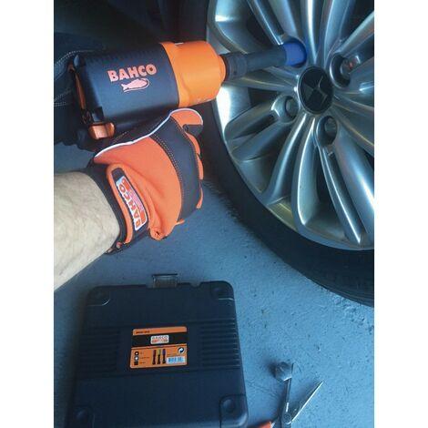 Bahco Coffret de 3 douilles à chocs longues 1/2 pour roues 17, 19 et 21 mm - BWSS12P3L