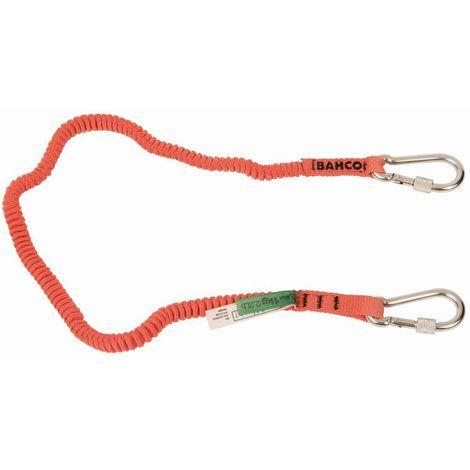 Bahco Cordone con moschettoni fissi (1 kg) - 3875-LY5