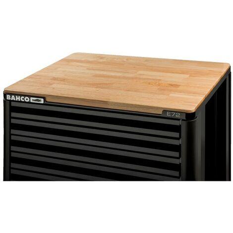 """Bahco Plateaux en bois de marronnier pour servantes storage HUB"""" 1472K et 1482K, 30 mm x 501 mm x 680 mm - 1472K-ACTW"""""""