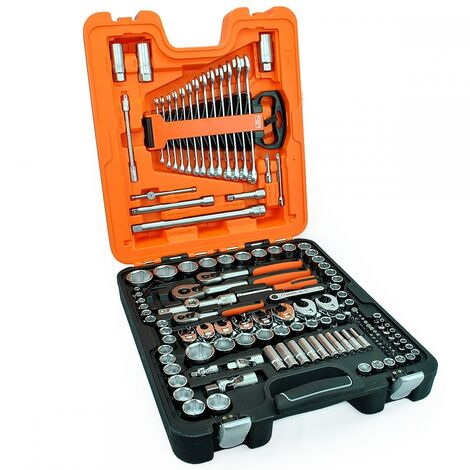Bahco S138 138 Piece Mixed Socket and Spanner Set
