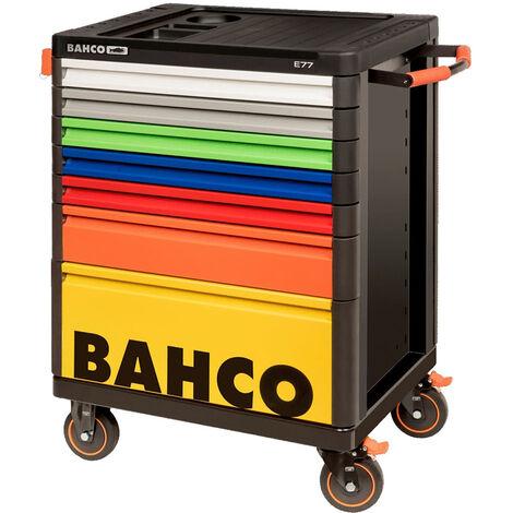 Bahco Servante d'atelier, 7 tiroirs multicolore - 1477K7COLORS