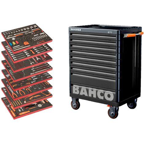 Bahco Servante pour la réparation automobile, 357 pcs - AUTO