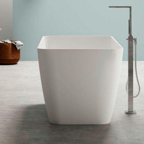 Bahia vasca da bagno freestanding 159 x 70 x 62 in BluStone colore bianco
