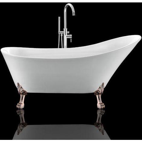 Son rouge brillant apportera charme et originalité à votre espace bain.