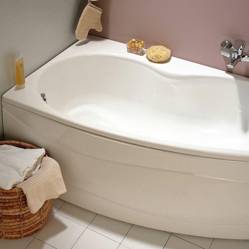 Baignoire Asymetrique Jacana 150 X 90 Cm Angle Droit Sans Tablier 199537
