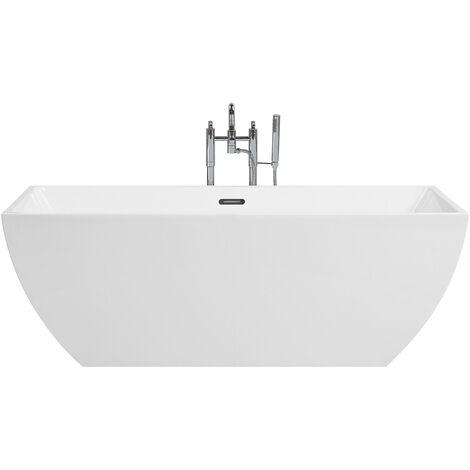 Baignoire autoportante en acryclique sanitaire blanc 255 litres